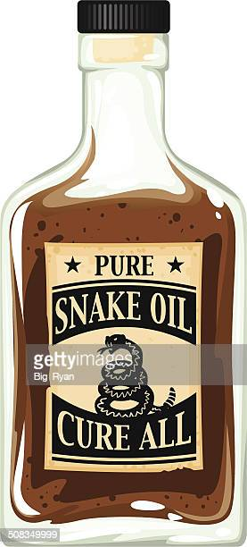 snake oil bottle