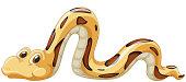 Snake sliding