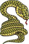 Snake, symbol of 2013 year