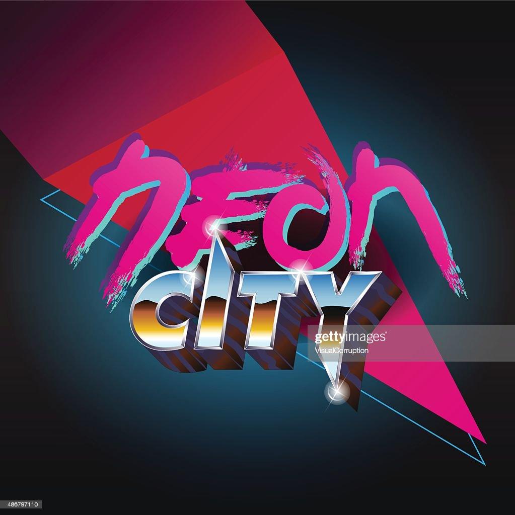 80's-Neon-City-Title - Nostalgia
