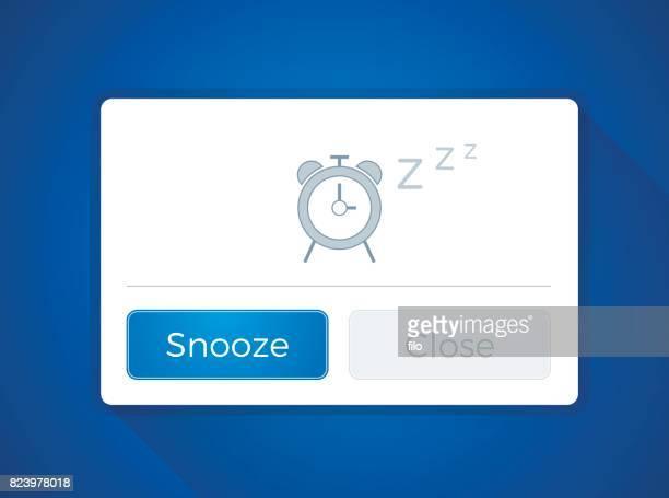 Snooze Alarm Clock Window