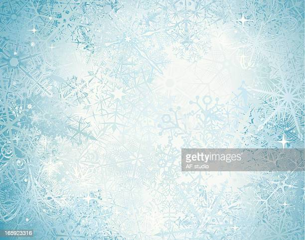 snow background - frost stock illustrations, clip art, cartoons, & icons