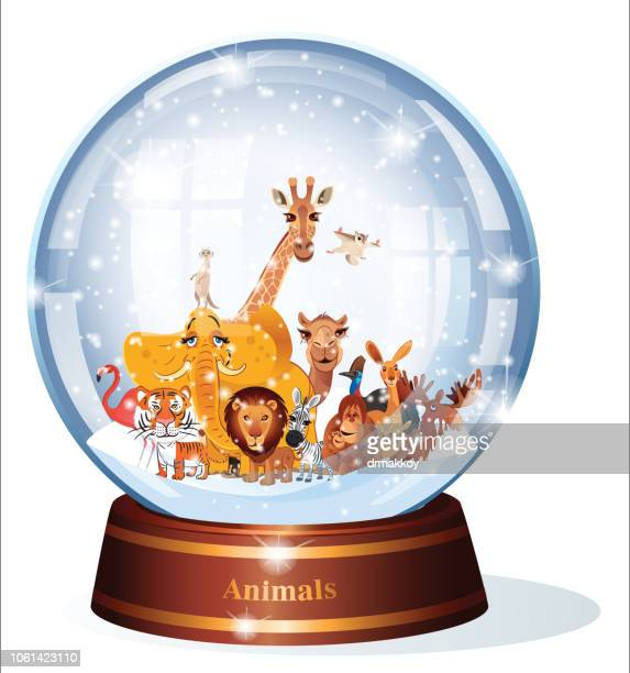 Snow Globe Animals