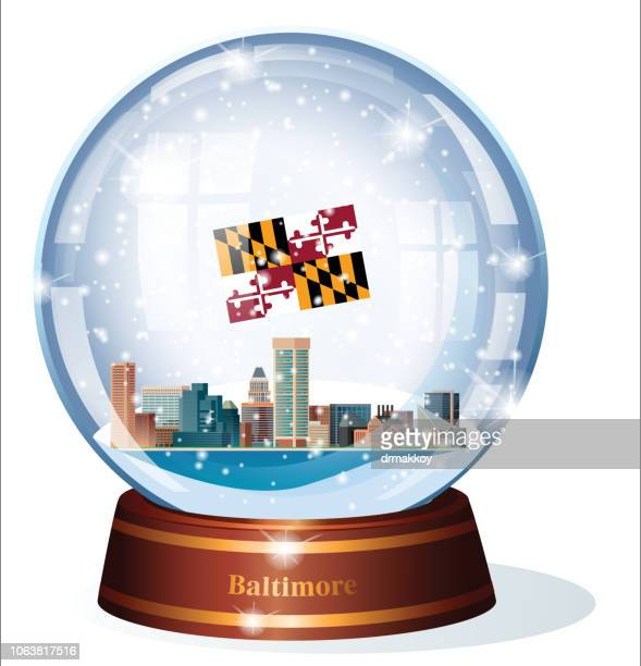 Snow Globe, Maryland -  Baltimare