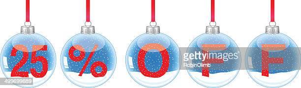 Snow Globe Ornaments 25 Off