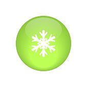 snow glossy vector