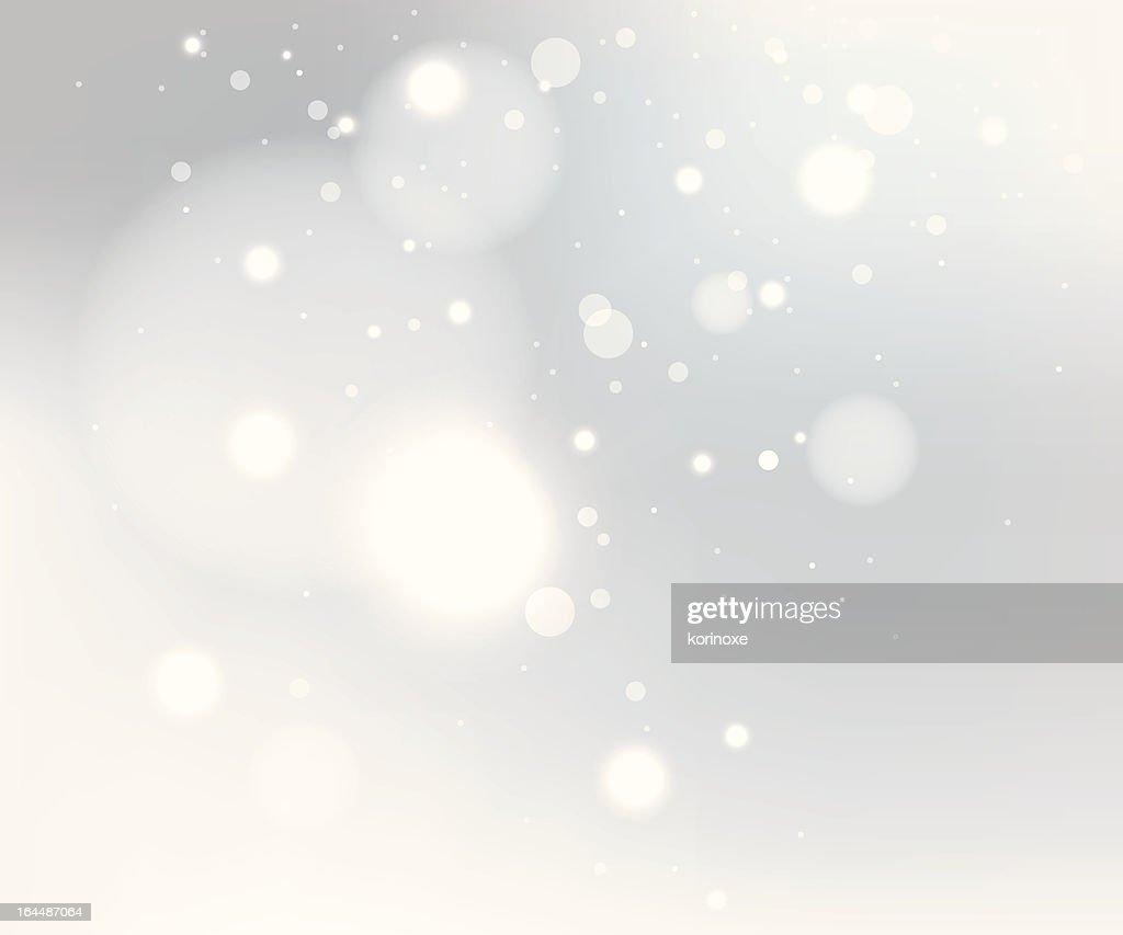 Snow gray background