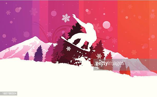 Snowboarding Background