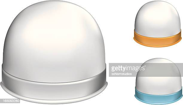 snowdome - architectural dome stock illustrations, clip art, cartoons, & icons
