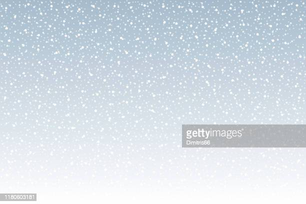 snowfall vector background - winter stock illustrations