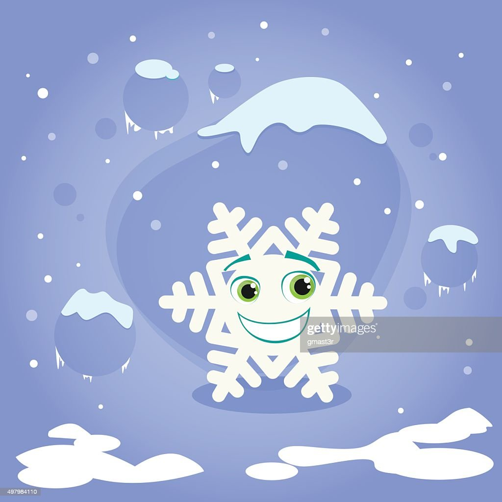Snow Flakes Clip Art At Clker - Animated Falling Snow Png - Free  Transparent PNG Clipart Images Download