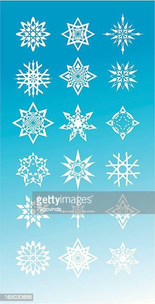 の結晶模様 - 尖っている点のイラスト素材/クリップアート素材/マンガ素材/アイコン素材