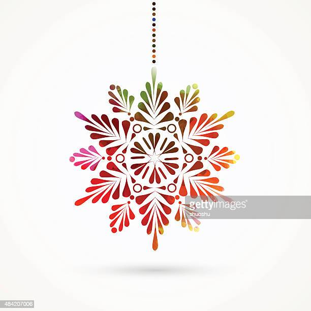 snowflake pattern - holiday travel stock illustrations, clip art, cartoons, & icons