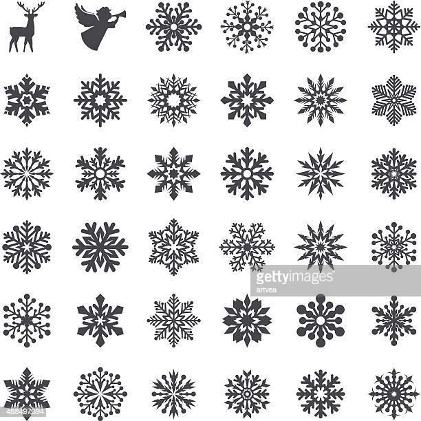 Schneeflocke Set
