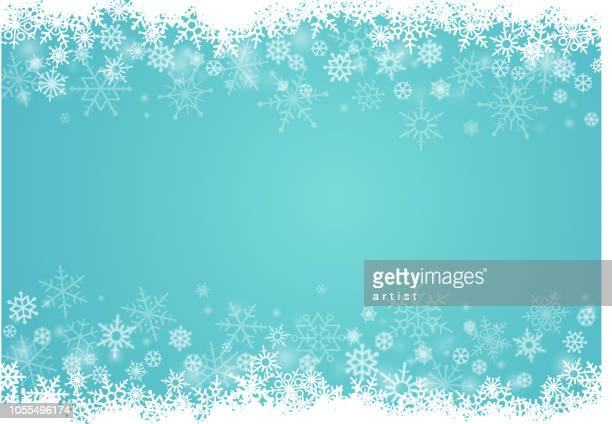 snowflakes background - blizzard stock illustrations