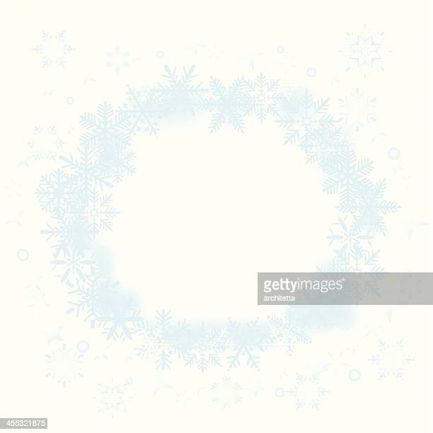 snowflakes background - frost stock illustrations, clip art, cartoons, & icons