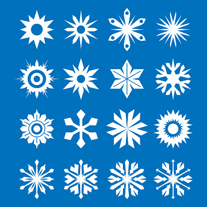Snowflakes collection - gettyimageskorea