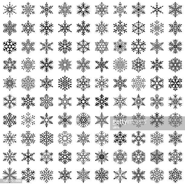 26 363 Iillustrations Cliparts Dessins Animes Et Icones De Flocon De Neige Getty Images
