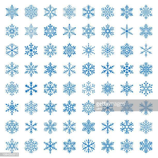 schneeflocken - kälte stock-grafiken, -clipart, -cartoons und -symbole