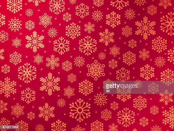 snowflakes winter holiday background - blizzard stock illustrations