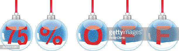 SnowGlobeOrnaments 75 Off