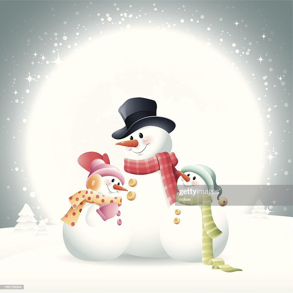Snowman - Family