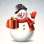 Snowman - Gift