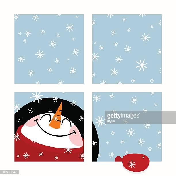 Snowman. Let it snow