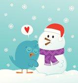 Snowman soulmate