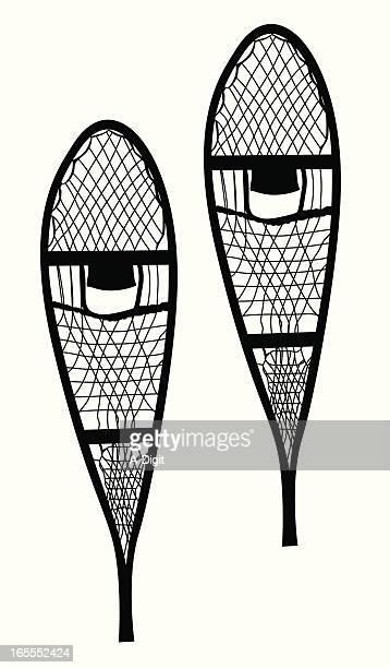 Illustrations et dessins anim s de raquette neige - Dessin raquette ...