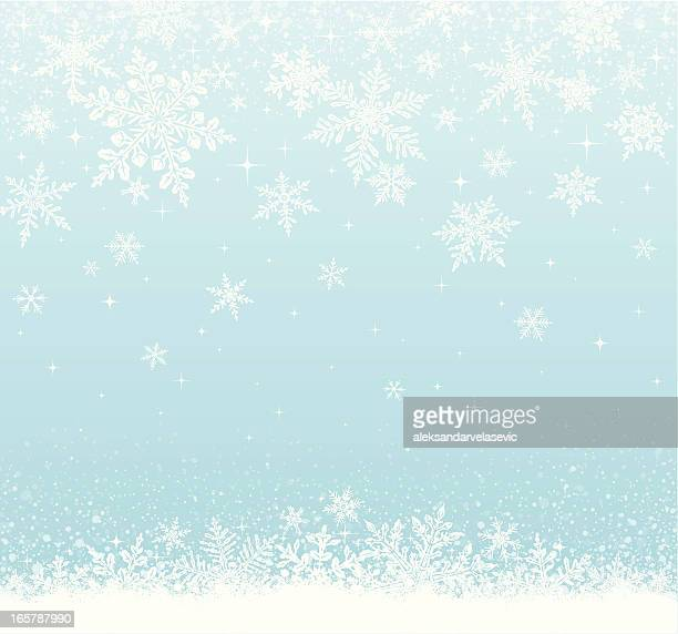 snowy background - frost stock illustrations, clip art, cartoons, & icons