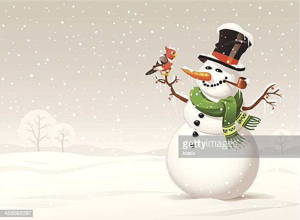 snowy day - frost stock illustrations, clip art, cartoons, & icons