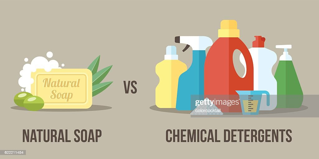 Soap vs detergents