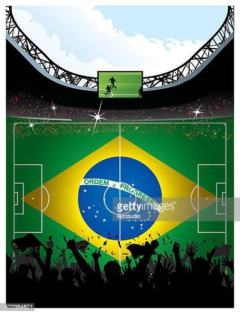 """Fußball Arena """"Brasilien"""
