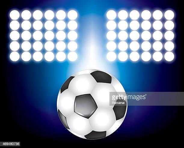 soccer background concept - sports organization stock illustrations, clip art, cartoons, & icons