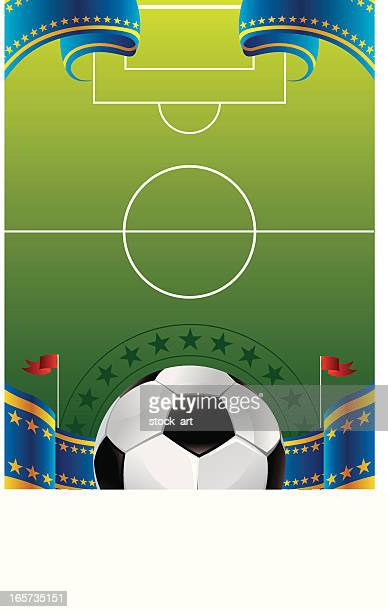 soccer background - sports organization stock illustrations, clip art, cartoons, & icons
