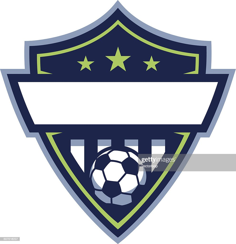 soccer crest template vector archives
