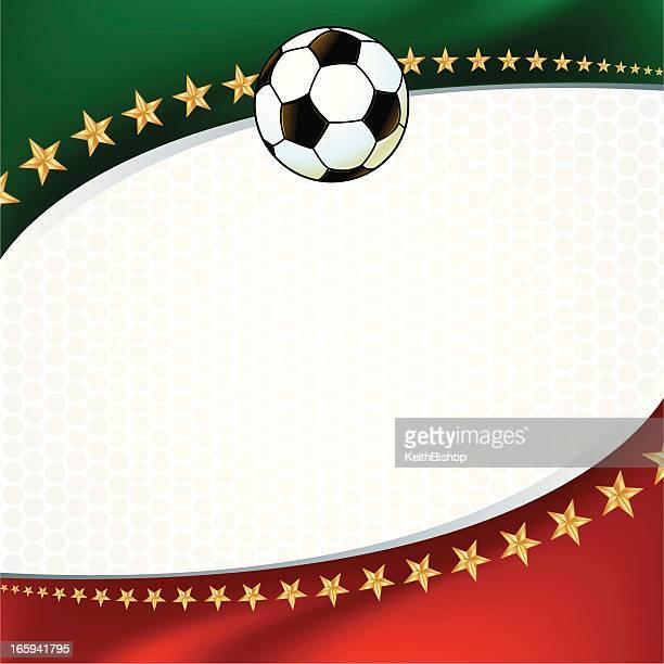 soccer ball background - sports organization stock illustrations, clip art, cartoons, & icons