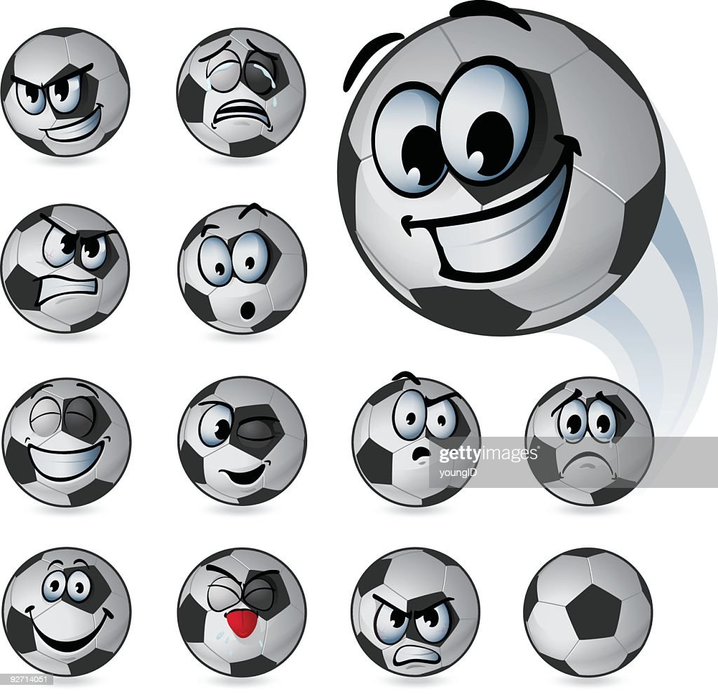 Soccer Ball Emoticons