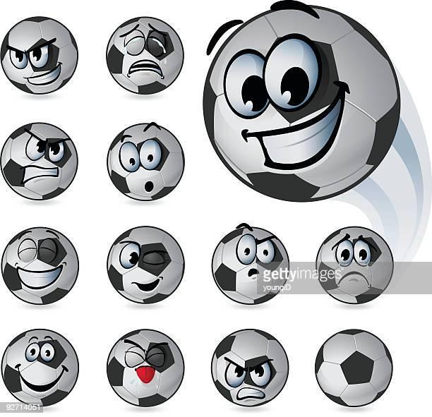 Soccer Ball Emoticons