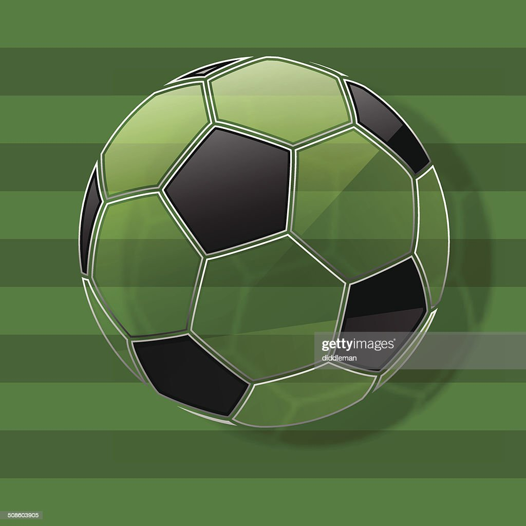 Soccer ball. Football background. Vector Eps10 : Vector Art