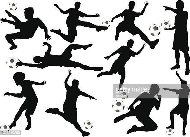 サッカーボールプレーヤー
