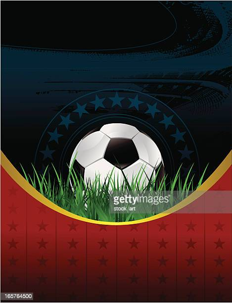 soccer banner - soccer competition stock illustrations