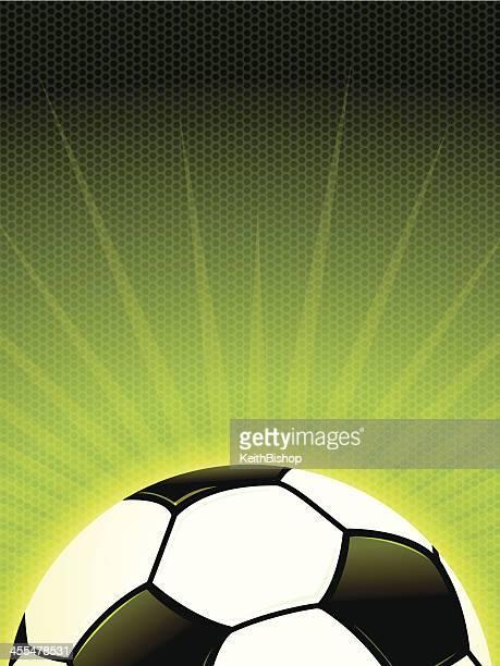 soccer burst background - sports organization stock illustrations, clip art, cartoons, & icons