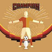 soccer champions poster