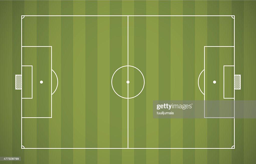 Soccer field lining