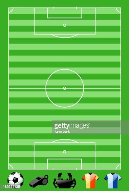 soccer field materials