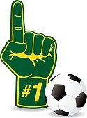 Soccer Foam Hand
