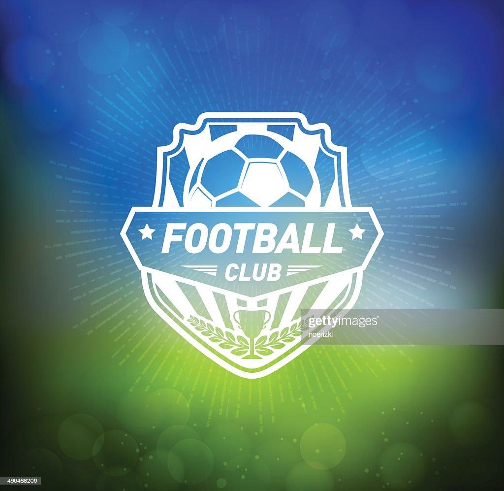 Soccer Football Badge Design Element