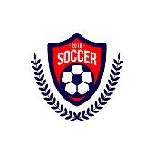 Soccer Football Club icon Vector Template